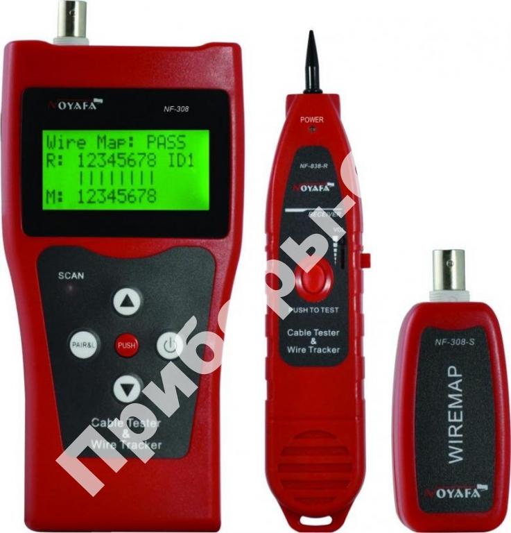 NF-308 - кабельный тестер-рефлектометр