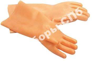 Перчатки диэлектрические - (латексные, бесшовные)