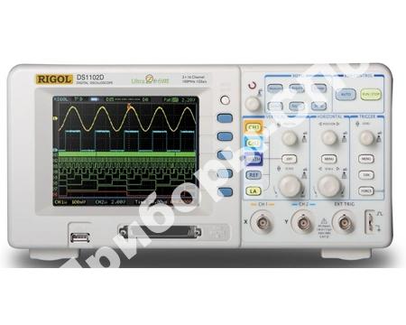 DS1102D - осциллограф смешанных сигналов