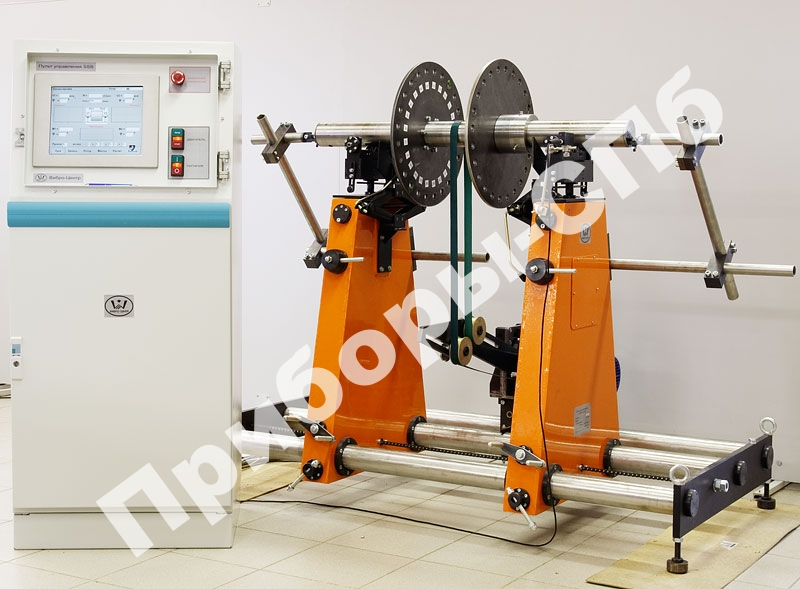 СБУ-400 - универсальный балансировочный стенд зарезонансного типа (до 400 кг)