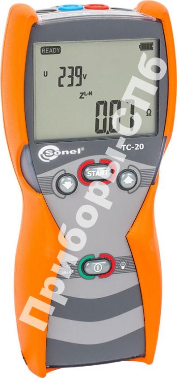 ТС-20 - измеритель параметров петли короткого замыкания