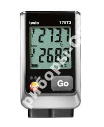 testo 175 T3 - 2х-канальный логгер данных температуры с разъемом для внешнего зонда (типа T и K)