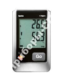 testo 176 H1 - 4х-канальный логгер данных температуры и влажности с разъемами для внешних зондов (NTC/емкостный сенсор влажности)