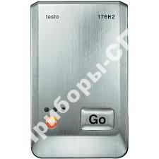 testo 176 H2 - 4х-канальный логгер данных температуры и влажности в металлическом корпусе с разъемами для внешних зондов