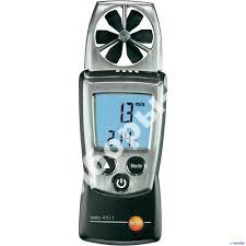 testo 410-1 - анемометр с крыльчаткой, со встроенным NTC сенсором измерения температуры воздуха