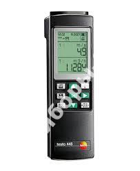 testo 445 - измерительный прибор для систем ОВК