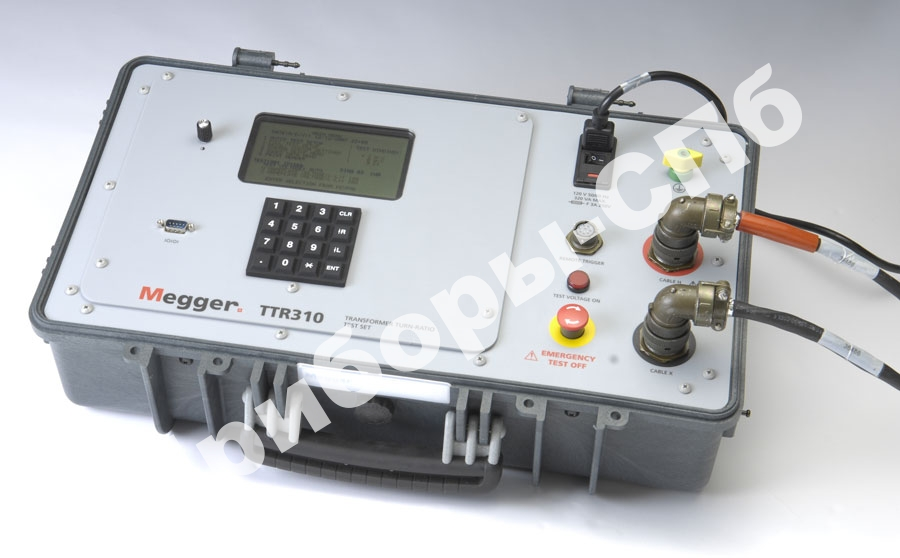 TTR320 - 3-х фазный измеритель коэффициента трансформации